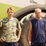 Впереди «Славгородский» и экипаж Демиденко