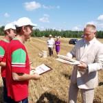 Хлеборобов поздравил губернатор