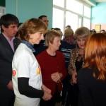 В Глусском районе побывала чрезвычайный и полномочный посол Ирландии в Беларуси и Литве госпожа Филомена Мурнаган