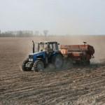 Сев ранних яровых зерновых и зернобобовых  в районе близится к завершению