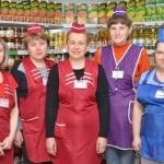 Среди лучших магазинов области — магазин № 99, или «Родны кут», Глусского райпо (бывший «Ветеран»)