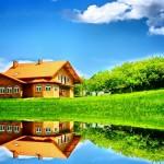 Как платить за домик в деревне