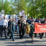 Бессмертный полк прошел 9 мая по улицам Глуска