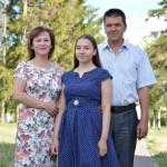 Диплом — дочери, благодарность — родителям