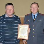 Поздравили ветеранов милиции