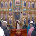 Крещение в Свято-Богоявленском храме Глуска