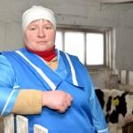 Телятница Людмила Любонец