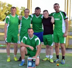 Каманда Глускага лясгаса заваявала 1-е месца ў раённым першынстве па міні-футболе