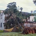 Глускі раён пацярпеў ад урагану