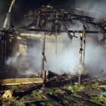 Ночью с 17 на 18 октября на пожаре в агрогородке Заелица погиб человек