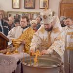 В день Богоявления в Богоявленском храме