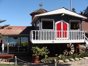 В доме Нобелевского лауреата Пабло Неруды на острове Исла Негра