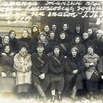 Команда глусских осоавиахимовцев
