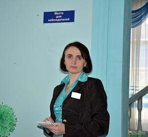 Пушкинский участок для голосования № 1 в Глуске