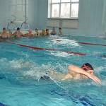 В бассейне — наплыв