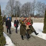 Мероприятие памяти Хатынской трагедии прошло в деревне Борки Кировского района
