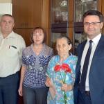 Накануне 9 Мая в Глусском районе поздравляют ветеранов Великой Отечественной войны