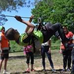 Состязание спортивных и креативных