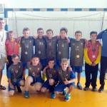 Глусчане заняли второе место в первенстве Беларуси по мини-гандболу