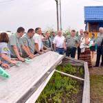 На базе Глусского лесхоза состоялся областной семинар