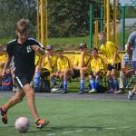 Зноў футбольныя сустрэчы збіраюць сяброў