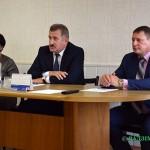 В рамках единого дня информирования 18 октября председатель Глусского райисполкома Степан Чечуха встретился с коллективом района электрических сетей