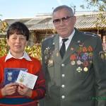 Жен бывших сотрудников милиции наградили в Глусском районе медалями «Жене офицера»