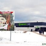 Супермаркет «Евроопт» открылся 27 декабря в Глуске на улице Гагарина (фоторепортаж)