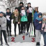 У мінулую суботу, 16 лютага, на цэнтральным стадыёне Глуска праходзілі раённыя спаборніцтвы па лыжным спорце сярод школьнікаў