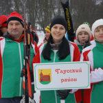В Могилёве соревновались лыжники-любители